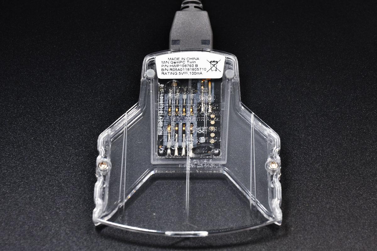 金雅拓Gemalto Gempc PC Twin USB HWP108765B 银行卡中石化加油卡广电网IC卡芯片卡读卡器