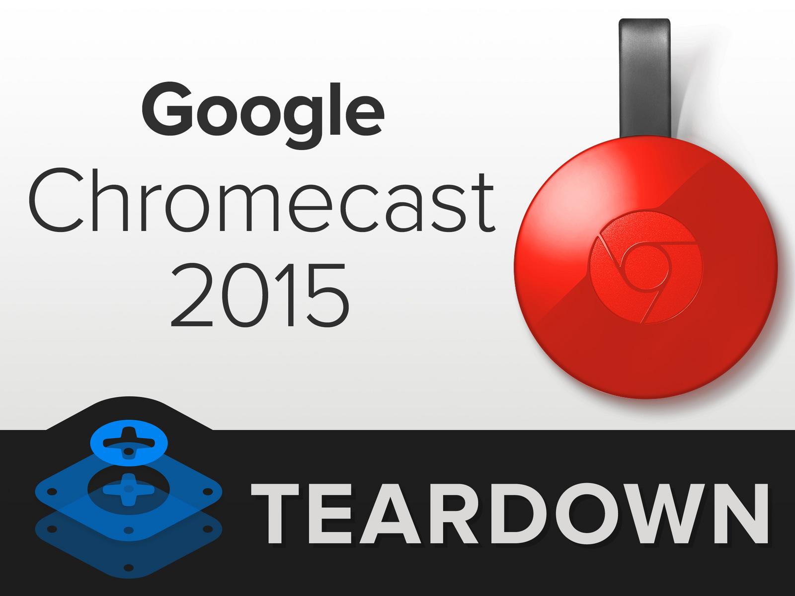 转:iFixit拆解Google Chromecast 谷歌二代电视棒NC2-6A5