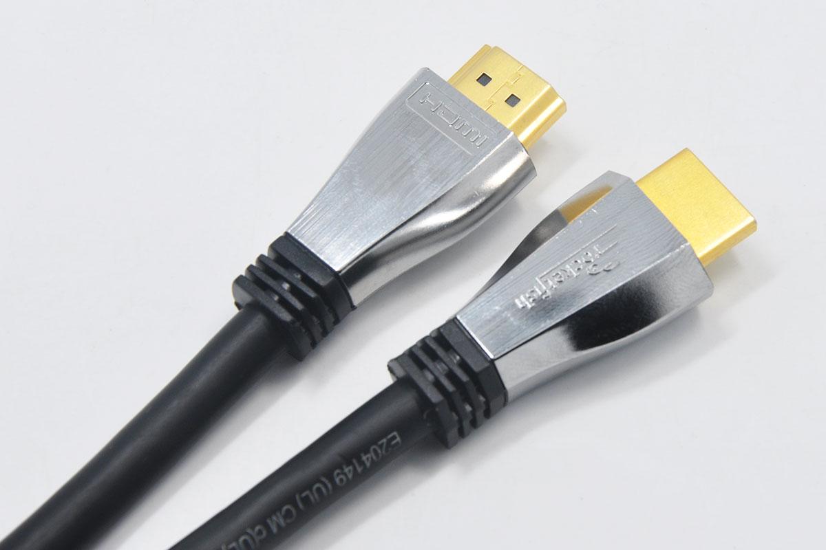 新到货78条3.58米火箭鱼Rocketfish 4K Ultra HD In-Wall HDMI2.0 Cable RF-HG12501 12ft 18GBps 4Kx2K 1080p镀金头高清线