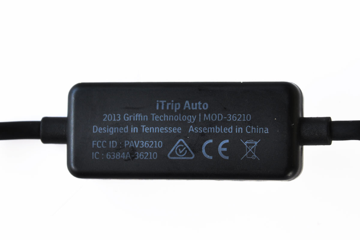 新到货500个格瑞芬GRIFFIN 苹果闪电接口设备通用 iTrip FM车载发射器 MOD36210  Griffin iTrip Auto FM Transmitter and Car Charger for Apple Lightning Devices