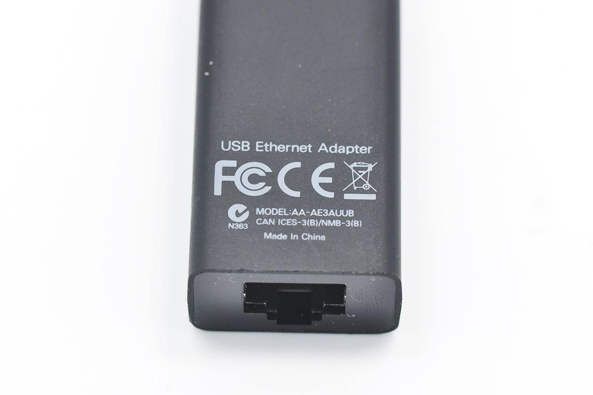 三星SAMSUNG USB 3.0千M1000M USB网卡 Chromebook原装USB网卡AA-AE3AUUB