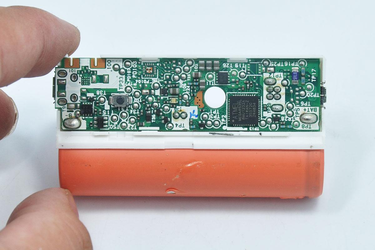 三洋eneloop充电宝2500mAh便携迷你移动电源 AU 0301PFAポータブル充電器02