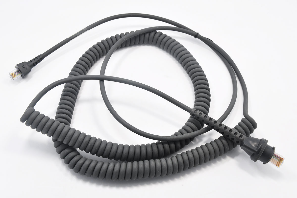 新到货66条Motorola Synapse Adapter Cable - 25-38700-03R 2.74米 Symbol P302FZY 网络口RJ45对电话线口RJ11