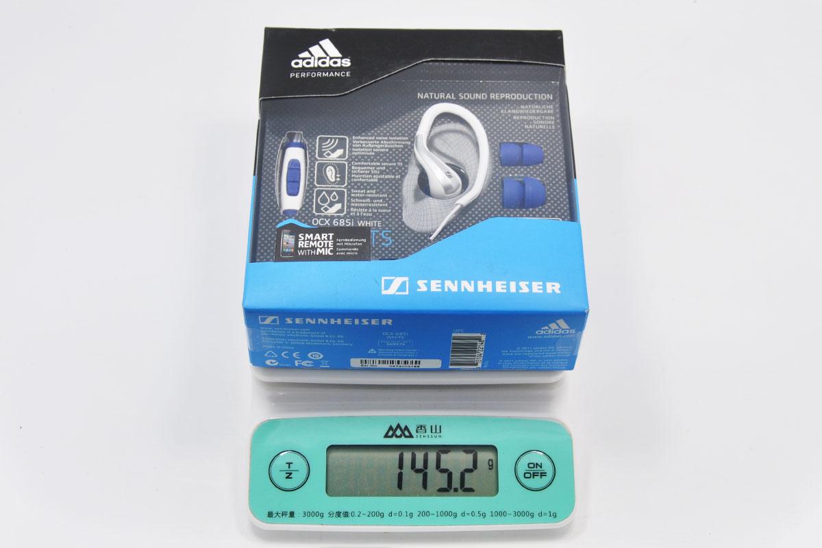 新到货100条全新盒装正品原装Sennheiser OCX685i 森海塞尔Adidas阿迪达斯定制版入耳式运动耳机 iphone ipad ipod专用耳机