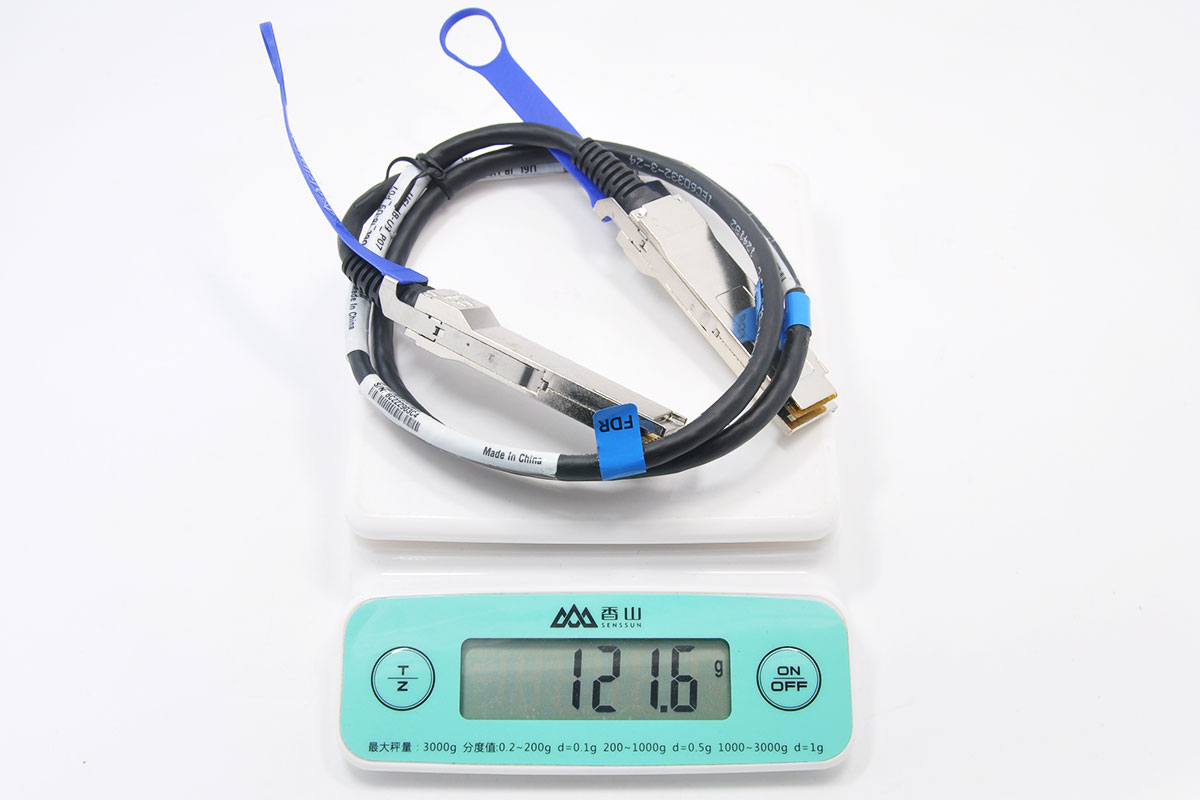 新到货几十条1米长HP惠普56G 674849-001 QSFP IB FOR Copper Cable高速电缆组件670759-B22 Mellanox passive copper InfiniBand 线