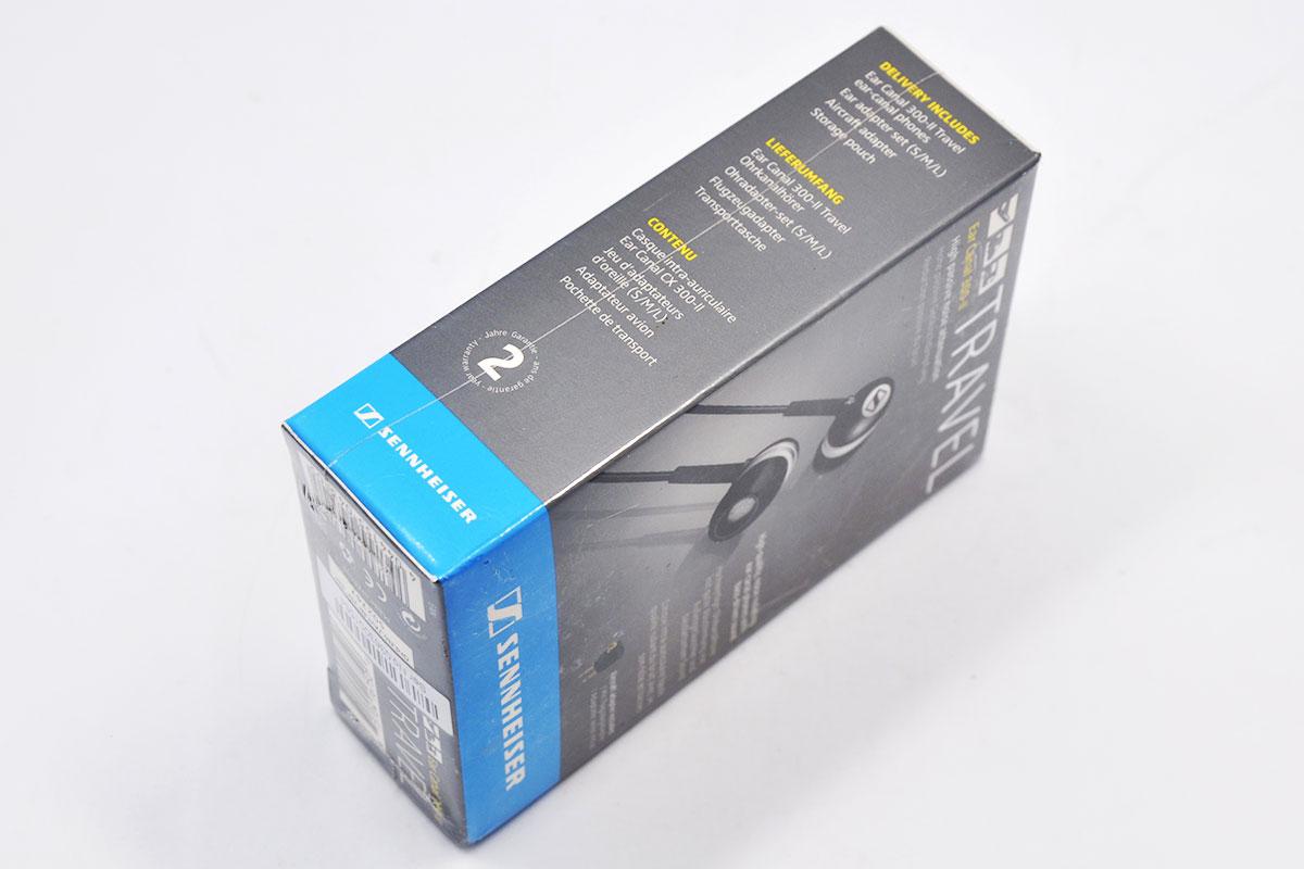 SENNHEISER森海塞尔 CX300II手机电脑重低音入耳式耳机耳塞 Travel Ear Canal Earpiece CX 300-II