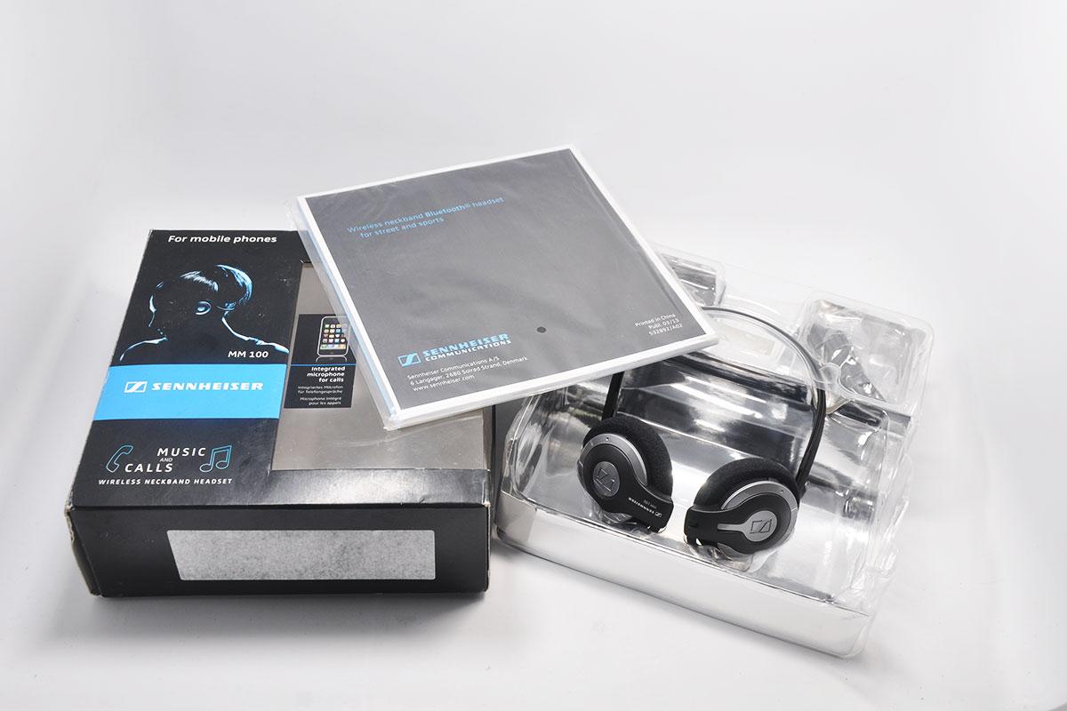 售完存档:森海塞尔MM100后挂式蓝牙耳机Sennheiser MM 100 Bluetooth Headset