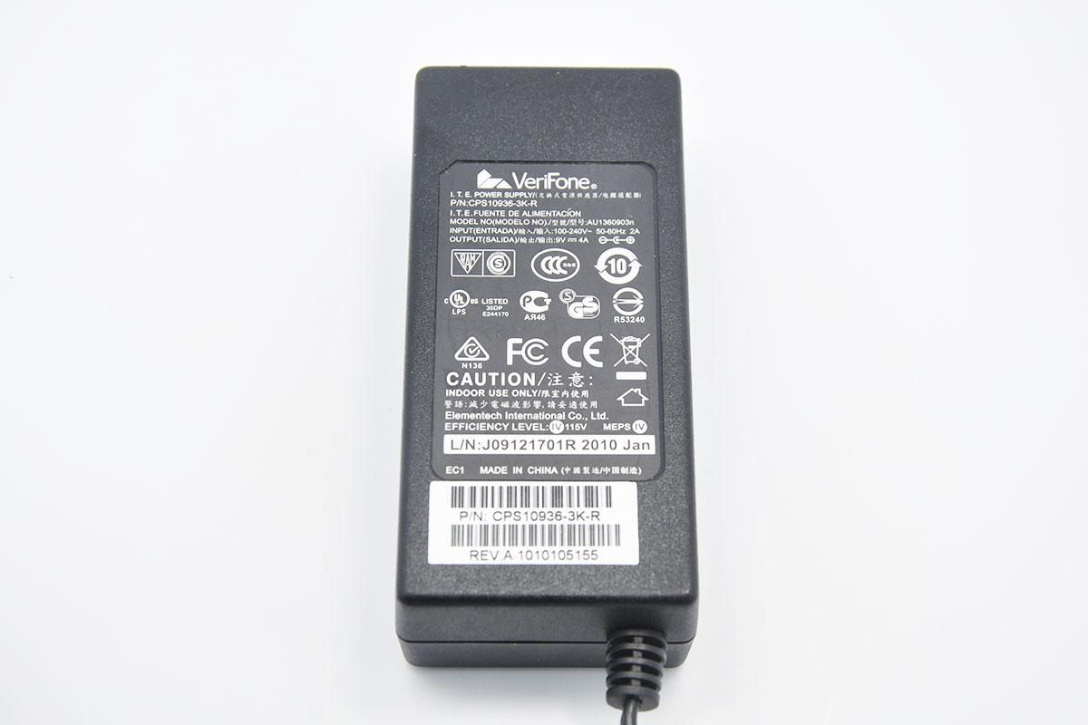 原装 9V4A 电源适配器 POS机VeriFone惠尔丰 CPS10936-3k-R VX510
