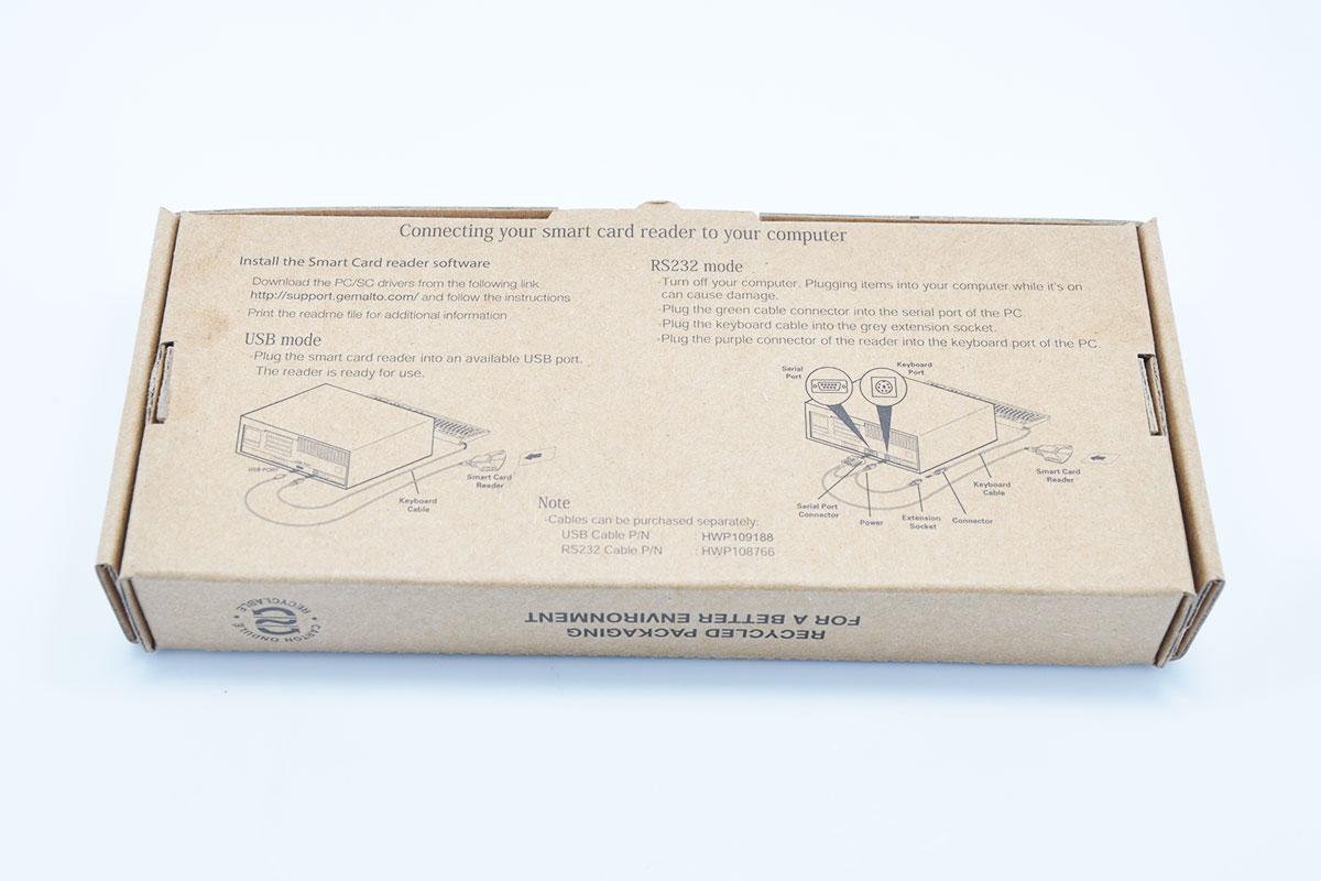 金雅拓Gemalto Gempc PC Twin USB HWP108765D IC卡芯片卡读卡器