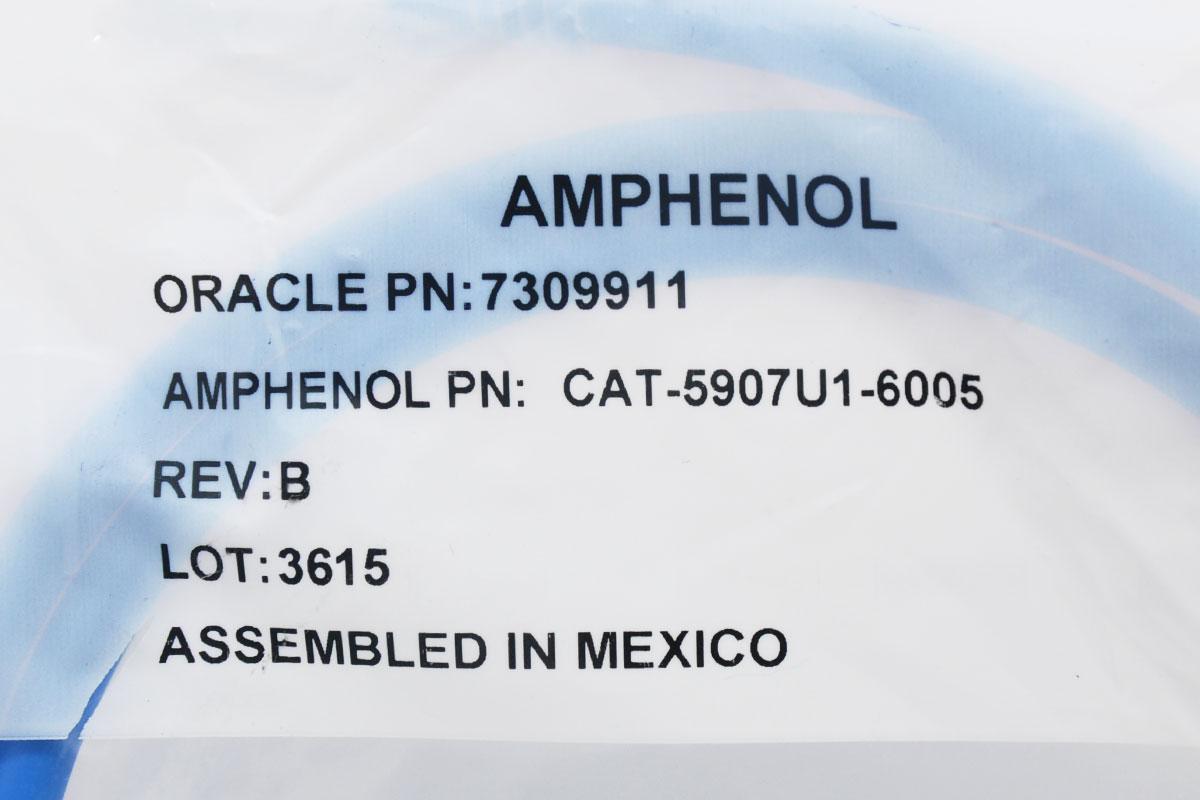 现货937条AMPHENOL安费诺超六类CAT6A万兆10G 万兆网线1.58米CAT-5907U1-6005 berk-tek lanmark 10G