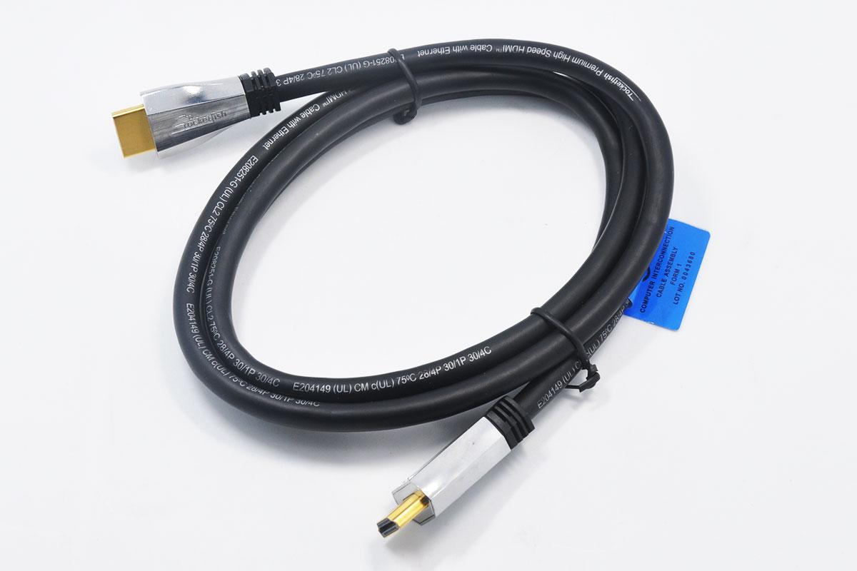 1.36米火箭鱼Rocketfish  4K Ultra HD In-Wall HDMI2.0 Cable  RF-HG04501  4 ft  18GBps 4Kx2K 1080p镀金头高清线
