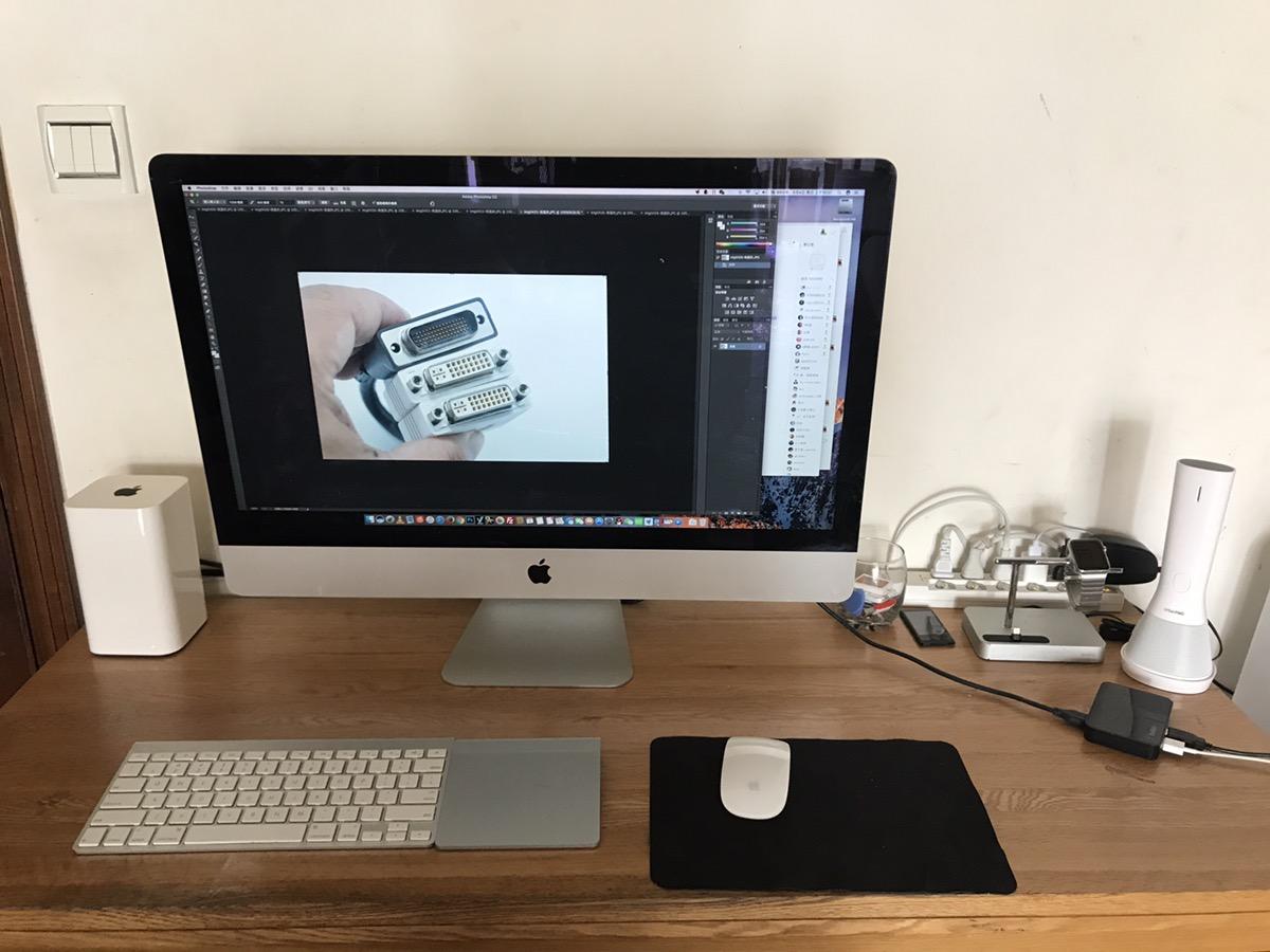 电脑桌上难得的干净--桌面卫生保持要养成一个良好的习惯。