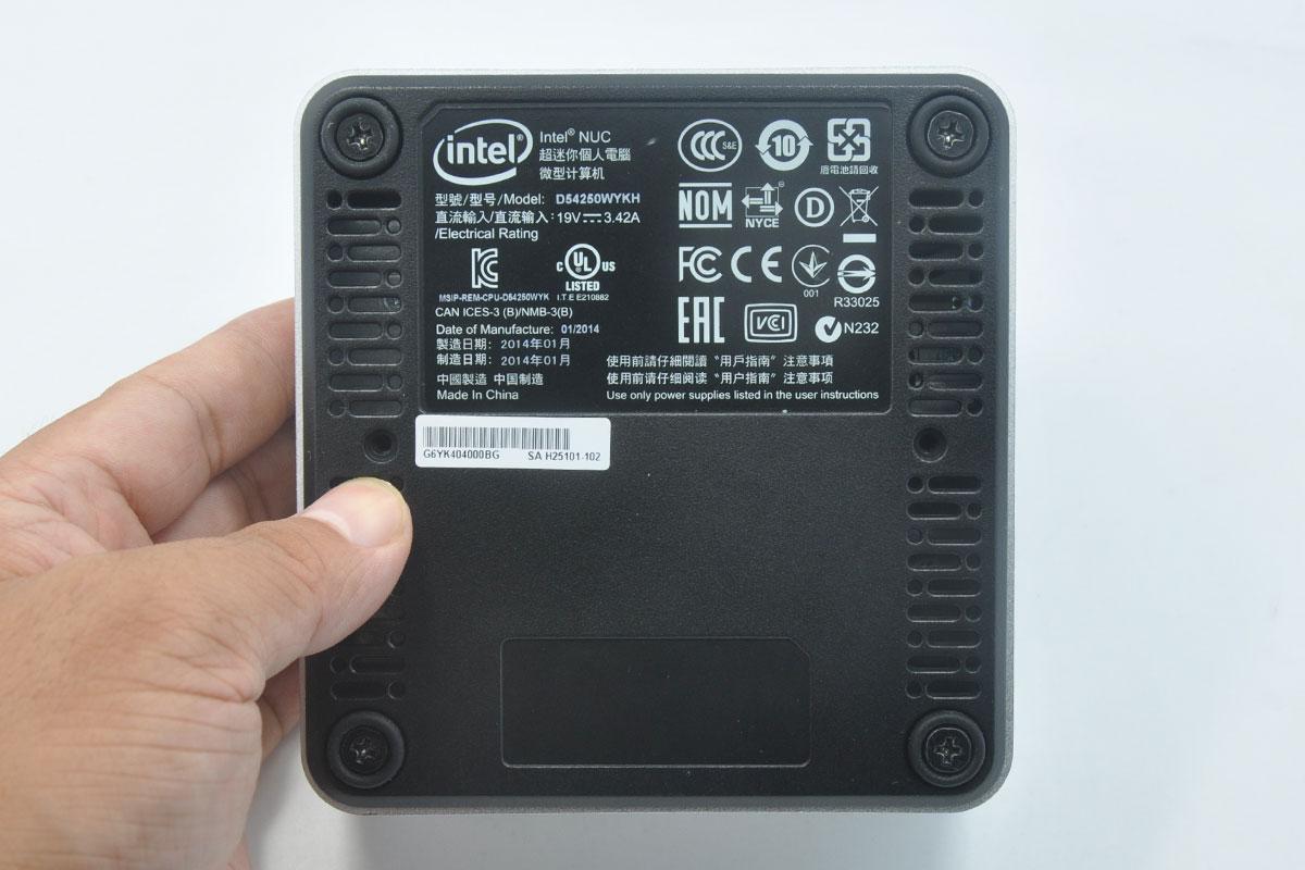 新到货2台第四代英特尔® 酷睿™ i5-4250 处理器Intel®Intel NUC D54250WYK HD5000