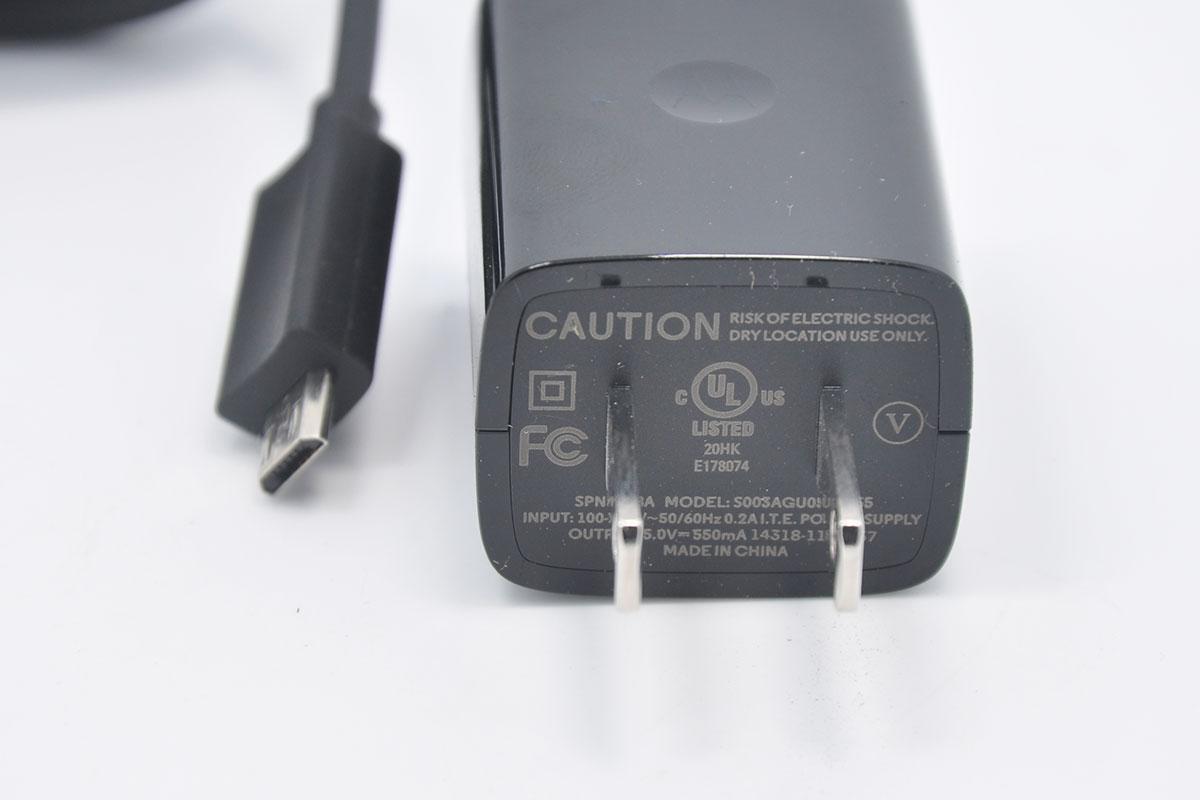摩托moto360 一代二代充电器ticwatch 手表无线充电器插头 Micro USB充电插头电源5V550Ma