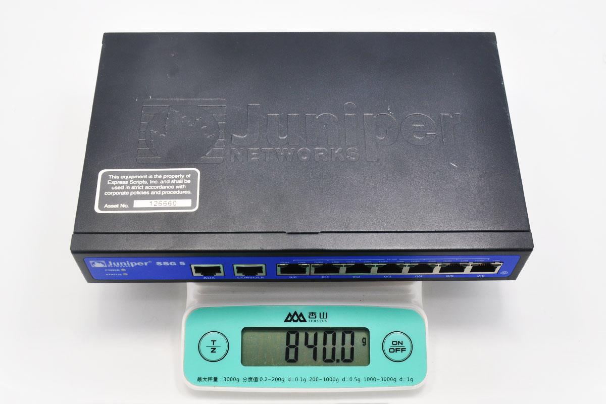 原装瞻博Juniper SSG-5-SH企业级硬件防火墙 无限制 带原装电源