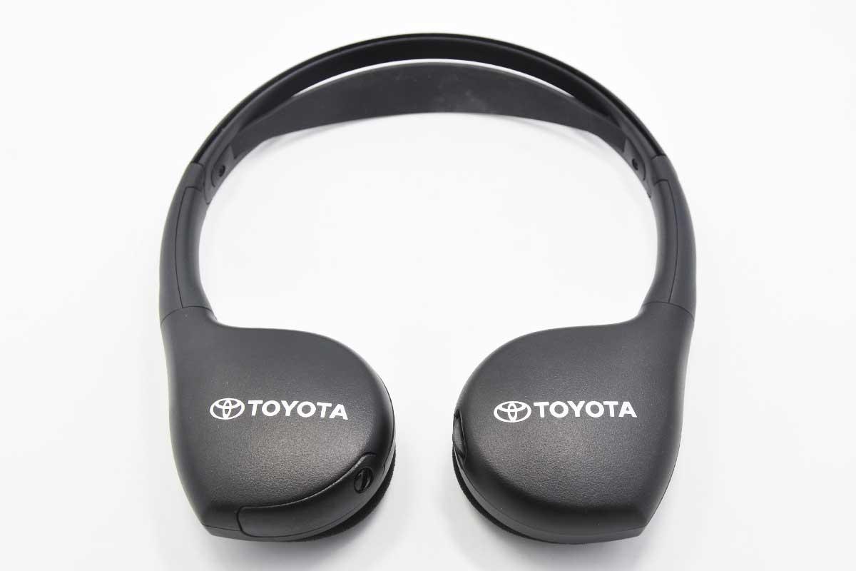 丰田TOYOTA  塞纳 汉兰达  兰德酷路泽 Rav4 FJ原厂车载吸顶头枕后排头枕DVD显示器红外线无线耳机PT943-00141-HP
