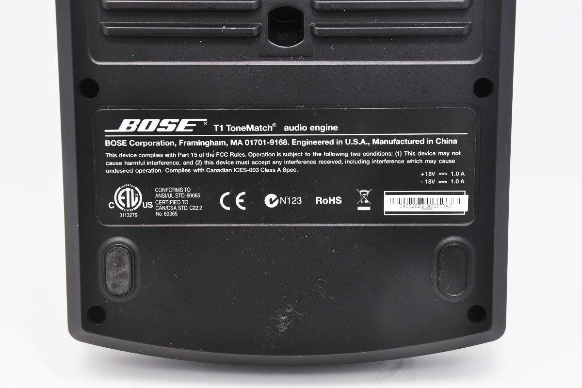博士(BOSE) L1Model II T1 ToneMatch音频引擎 调音台 T1 ToneMatch® audio engine
