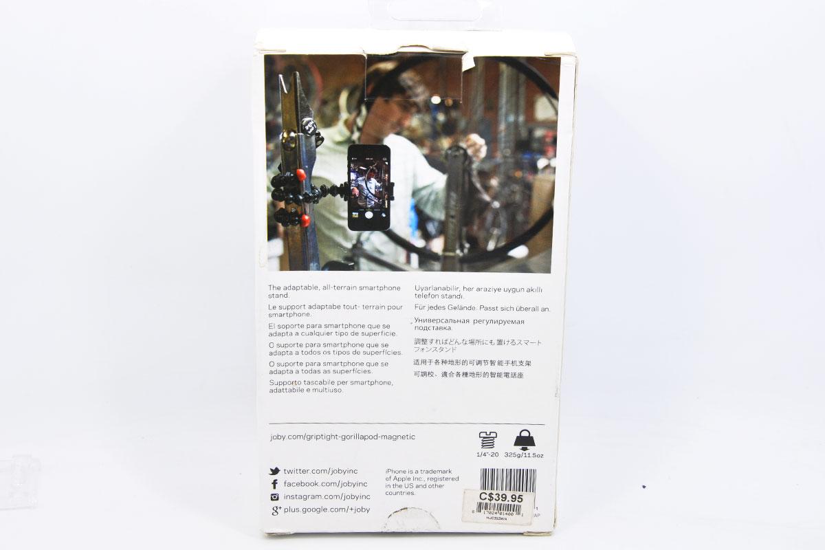 JOBY宙比八爪鱼手机视频录制三脚架 磁吸式便携手机支架 JB01400 GripTight GorillaPod Magnetic