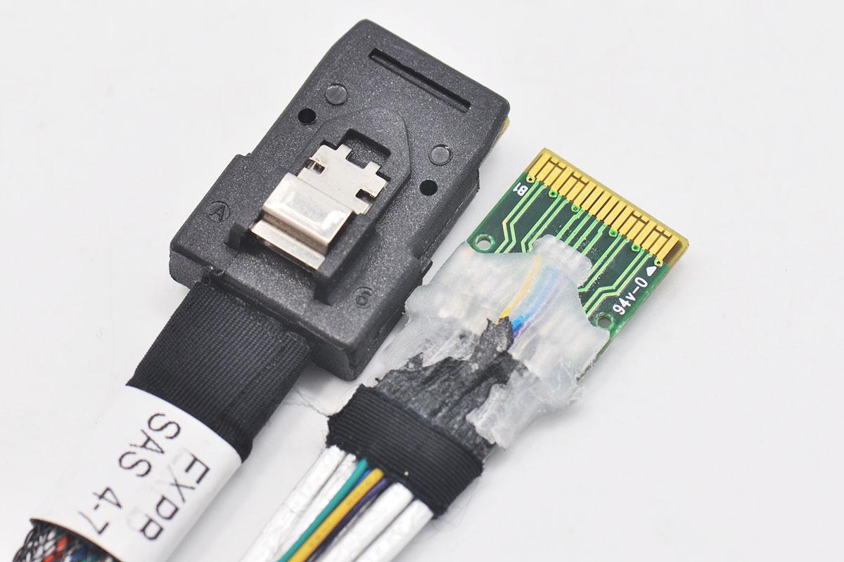 新到货600多条Amphenol安费诺 SAS硬盘线 DD0S2MTHP00 AST RMS36-1986 36p to 36p SFF-8087对SFF-8087 MiniSAS