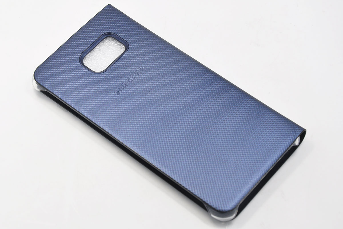 新到货500个原装SAMSUNG三星盖世乐Galaxy S6 edge+ plus保护套SM-G9280智能皮套翻盖曲面EF-CG928PBEGCA