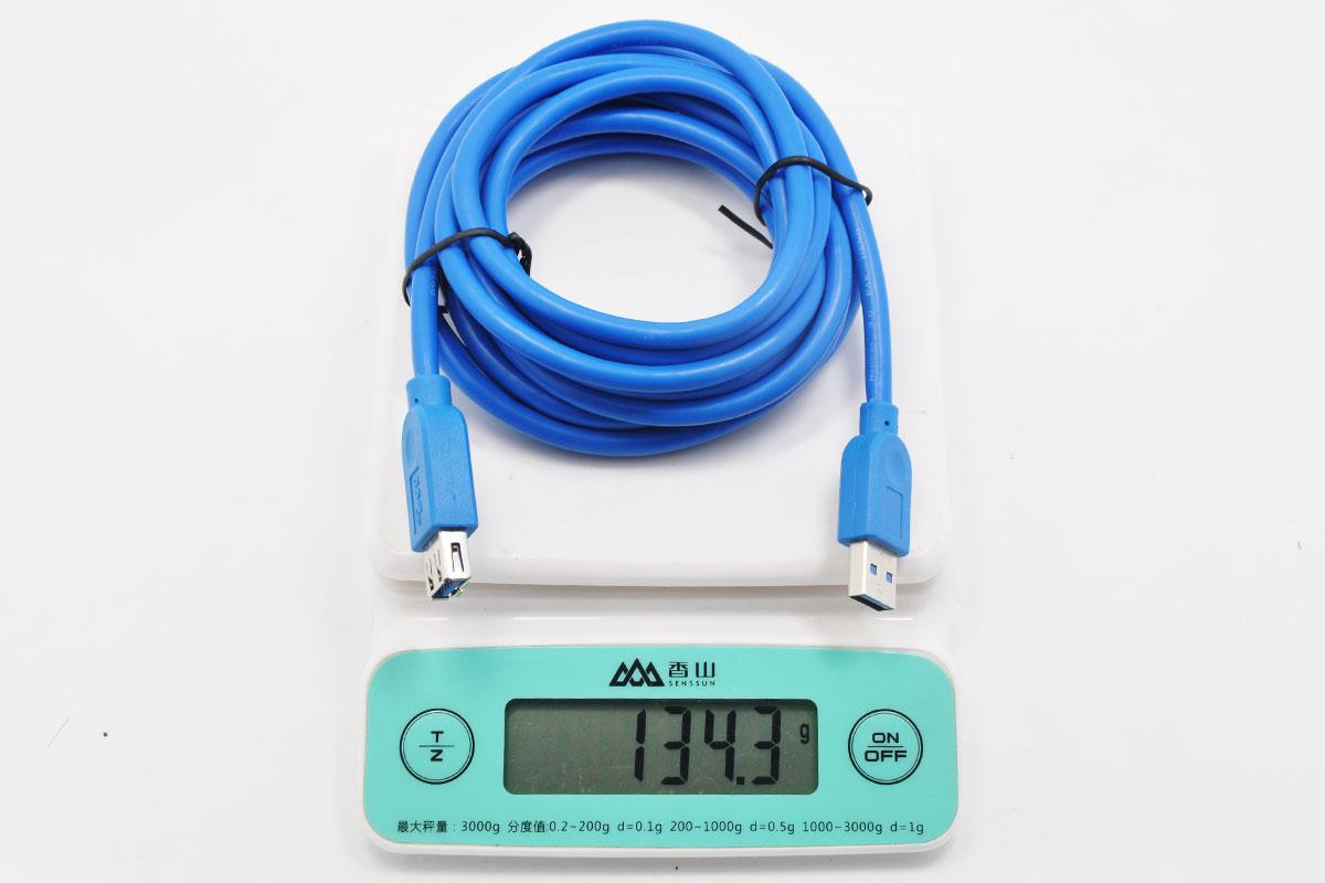 原装做工好3米长USB 3.0延长线 USB数据线公对母电脑U盘鼠标键盘无线网卡延长线