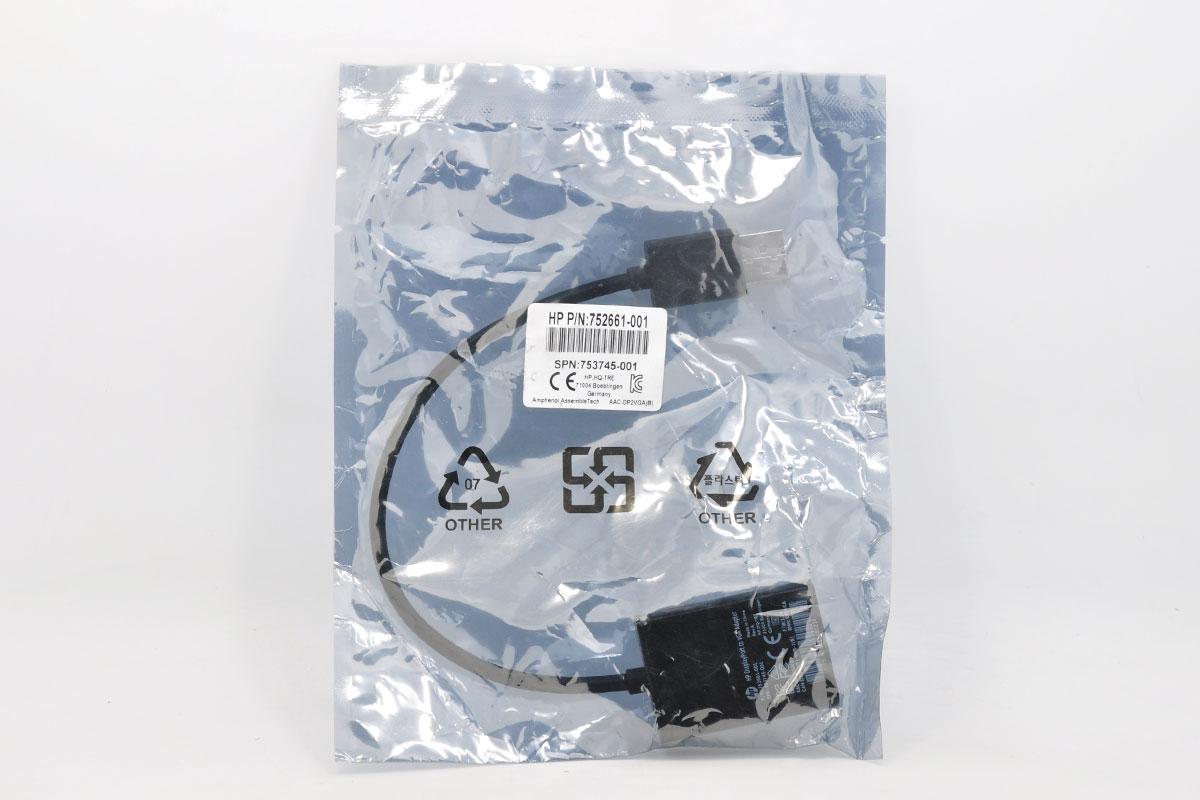 新到货48条全新原装HP Display Port to VGA Adapter as615at 753745-001 752661-001 DP转VGA  AAC-DP2VGA