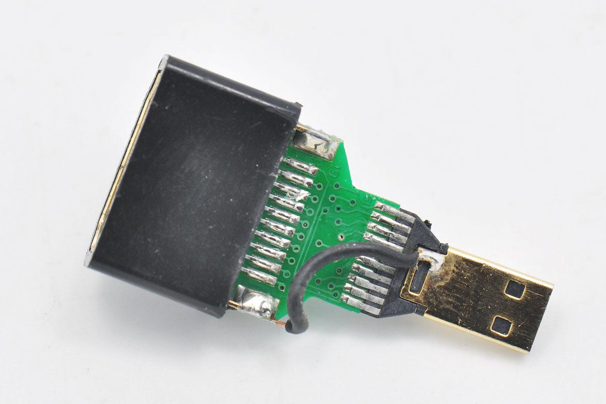 散装到货168个Micro Hdmi转Hdmi转换头手机 平板 相机连电视用公对母微型Hdmi接口转普通高清接口