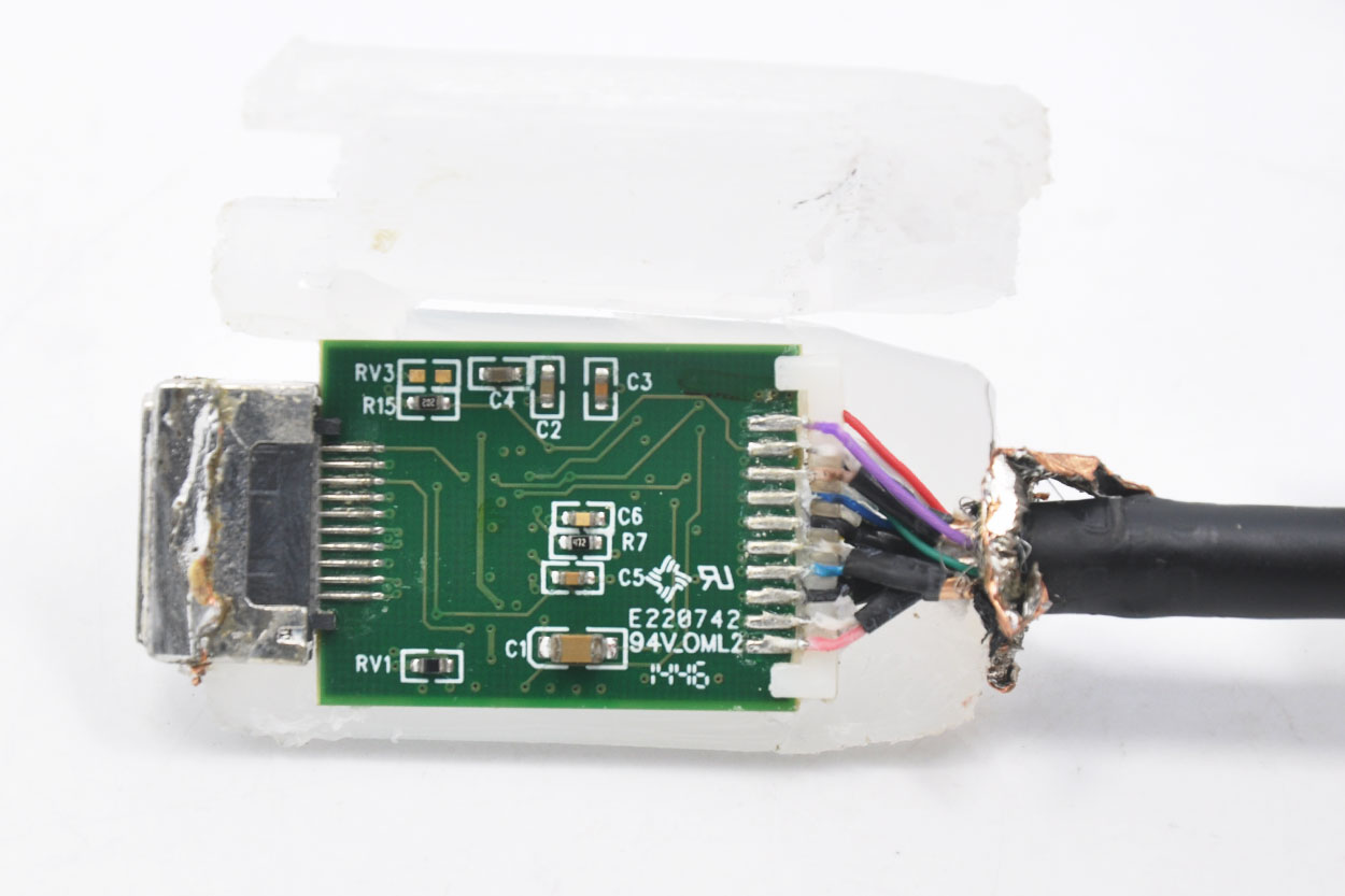 新到货63条HP惠普原装DP转HDMI转接线转接头612873-001  bizlink代工  Displayport to HDMI adapter BZL-KS10006