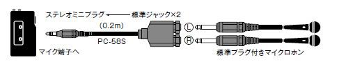 新到货几百条SONY索尼PC-58S 音频转接头 3.5转6.5 转换线 公转3.5mm转6.5mm 话筒线插头