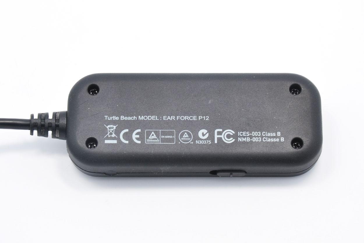 新到货几百个Turtle Beach乌龟海岸正品 幻境Ear Force P12 高保真 USB耳放声卡 放大器